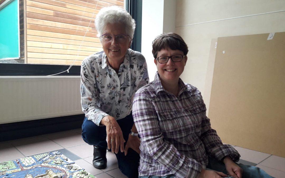 Lies van Velzen en Froukje Verschoor – gezellig samen creëren!